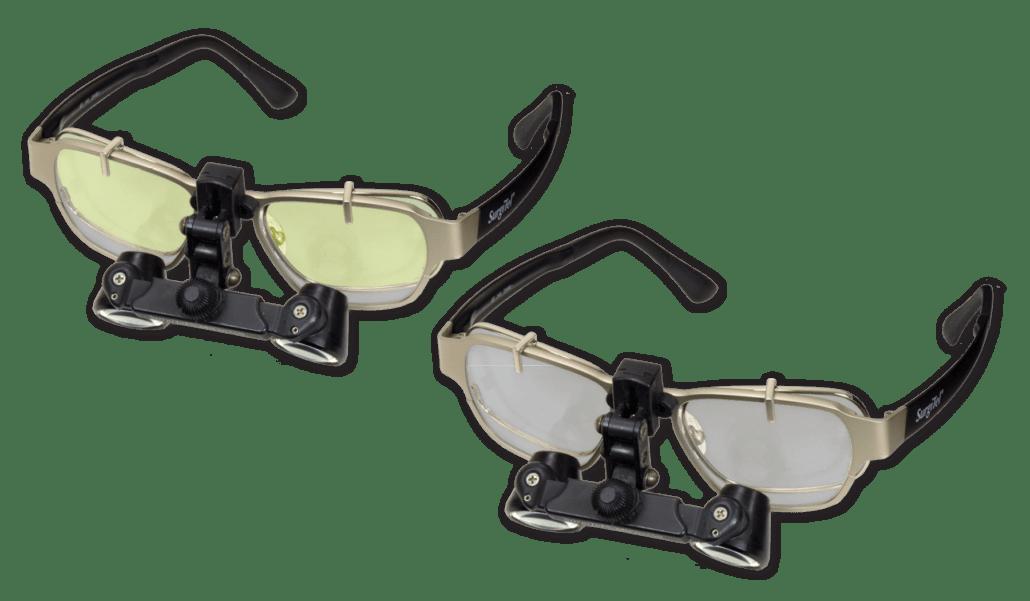 Surgitel Loupes - Video Hot Spot Eye Protection